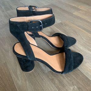 Madewell The Rosalie High Heel Sandal True Black